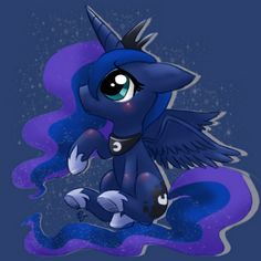 "Luna:""She rises the sun and everyone loves her, What's so special about it I rise the moon if the ponys didn't have ME they would all run out of water and crops would starve!!! She will pay....."""