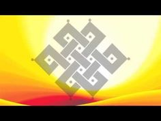 The Endless or Infinite Knot is a line without a beginning or end that radiates both calm and movement. It represents the idea that everything in this world in interconnected. Buddhist Symbols, Spiritual Symbols, Hamsa, Arrow Symbol, Knot Tattoo, Stencils, Floor Art, Tibetan Buddhism, Symbolic Tattoos