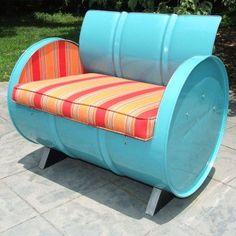 Outdoor Drum Works Furniture Santa Fe Arm Chair - 1021, Durable