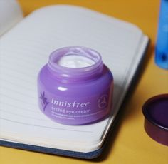 Review of Innisfree Orchid Eye Cream on Sylliepie.com