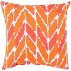 Taranto Poly Euro Pillow, Pink
