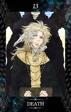 Tarot Card - Saint Seiya