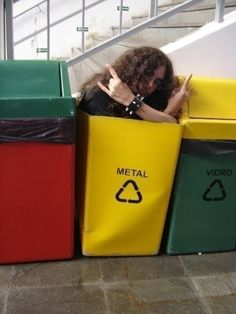 22 Things That Are F**king Metal: This recycling bin.