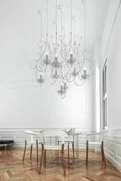 Candles and Spirits Squadra Collection Contemporary Chandelier, Contemporary Interior, Modern Interior Design, Luxury Lighting, Interior Lighting, Lighting Design, Handmade Chandelier, Modern Door, Light Decorations