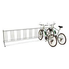 Double-Entry Bike Rack - Surface Mount by SportsPlay Equipment. $312.99. SportsPlay's Double-Entry Bike Rack gives students easy access from either side and allows them to store bicycles in an upright position Kids can rest tires on the base and chain them up anywhere on the frame This rack is made entirely of galvanized steel it will withstand heavy use in your park or playground Available in 3 Capacities: 9 bikes, 18 bikes, 36 bikes