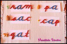 Lenguaje Montessori - Serie Rosa - Cajas de Objetos - Creciendo con Montessori
