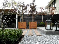 moderne Loungetuin Rotterdam Hillegersberg