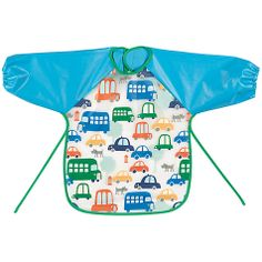 Buy John Lewis Transport Peva Long Sleeved Bib Online at johnlewis.com. Essential purchase this evening for Nathan!