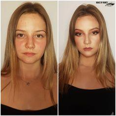 Before&after #makeup #mua #makeupartist #beforeandafter #powerofmakeup #makebynancy