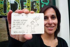 Kanteldenken in de ideeënwinkel #idee2go @Inge de Fluiter @usem note cards