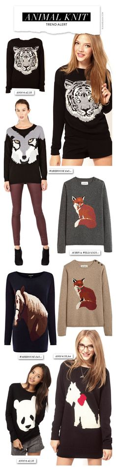 It's The Shit: Animal Knit!