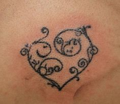 Heart Tattoos for Girls Collections