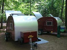 Electronics, Cars, Fashion, Collectibles, Coupons and Teardrop Camper Trailer, Camper Trailers, Trailer Plans, Vintage Travel Trailers, Caravans, Travel Agency, Woody, How To Plan, Big