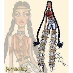 #DisneyDivas 'Fashionista'  by Hayden Williams : Pocahontas