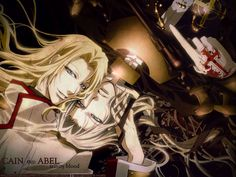 Trinity Blood Cain | Trinity Blood Cain and Abel