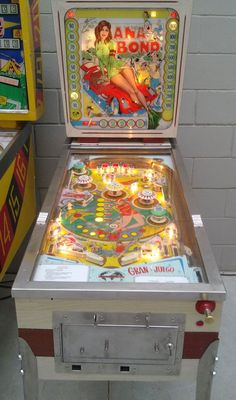 "1966 Ana Bond ""Talleres de Llobregat S.A."" Pinball Machine"