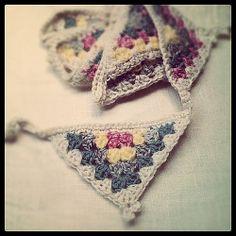 Crochet Granny Bunting by Lisa Pocklington