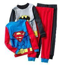 Super Heros Batman & Superman Pajama Set Boys Sleepwear, Cotton Sleepwear, Batman And Superman, Big Boys, Toddler Boys, Pajama Set, Motorcycle Jacket, Infant, Baby Boy