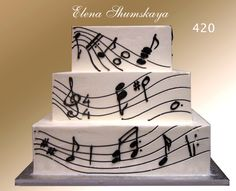 Wedding cake for the musician. I repeat, I WILL marry a musician!