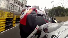 Didier Grams bei der Macau Straßen GP 2013 - aus einer coolen perspektive mit der gyroskopischen GyrCam!