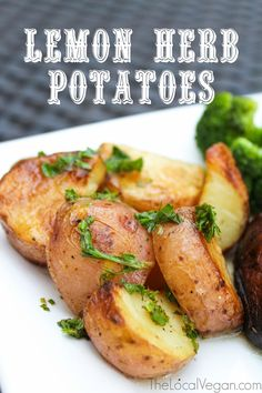 Lemon Herb Potatoes