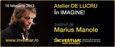 Marius Manole in atelierul DE LUCRU: In IMAGINE! (16.02.2013)