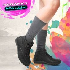 Botín Carla All Black Sneakers, Shoes, Fashion, Zapatos, Moda, All Black Running Shoes, Shoes Outlet, Fashion Styles, Fasion