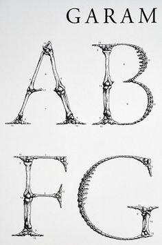 Björn Johansson - Garamond Corpus Alfabetet large-2