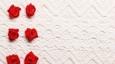 DIY Easy Ribbon Rose