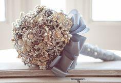 Sim...eu aceito: Bouquet de Broches....como fazer ? (DIY)