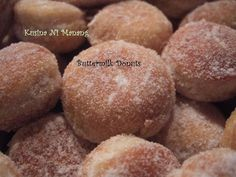 Kusina ni Manang: Buttermilk Doughnuts. They look like the ones at the local Chinese Buffet! Yummm!