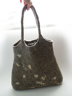Felted bag Ready for shipping by Simonascrafts on Etsy, $95.00