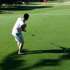 #golf #퍼팅 #세상제일행복 #호주 #쪼리 #골프 #나시 #노양말 #공두개 #rottnestisland #Perth #putting  골프장갑없이 쪼리신고  캐디도 없이 마음껏 골프치고 옆에는 쿼카가 웃으며 돌아다니고  여기가 천국인데  by innov_sangil http://ift.tt/1L5GqLp