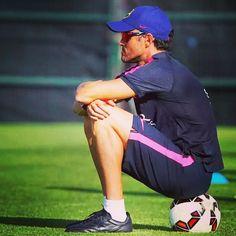 Luis Enrique reveals plans for @fcbarcelona | Luis Enrique detalla l'estil del seu Barça | Luis Enrique detalla el estilo de su Barça #luisenrique #igersfcb #fcbarcelona