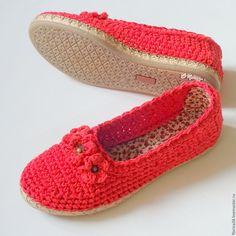 Купить Балетки уличные Маки - обувь ручной работы, женская обувь, домашняя обувь, подарок