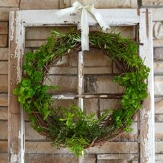 Fresh Herb Wreath- Used to dry out your herbs for use in cooking