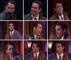"""courageiswhenwefaceourfears: """"this is a Zachary Levi facial expression appreciation post"""" Musical Theatre Broadway, Broadway Nyc, Laura Osnes, Yvonne Strahovski, Zachary Levi, Theatre Geek, Wedding Tattoos, Drama Queens, Thats The Way"""