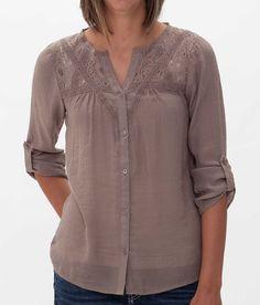 Daytrip Lace Shirt - Women's Shirts/Tops | Buckle