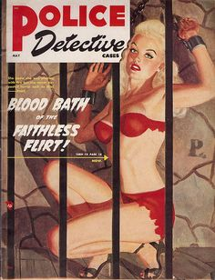 police detective pulp covers - Google Search