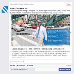 Recruitment and Retention Communications, 2nd Place, Urban Engineers, Inc., Philadelphia, PA