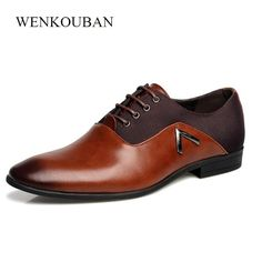 a5fe06c3faf66 Gentleman Oxford Men Leather Shoes Summer Male Flats Bullock Zapatillas  Hombre Dress Black Brown Size 35 -47 chaussure homme. Yesterday s price  US   49.98 ...