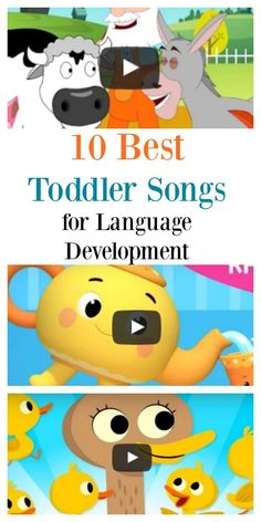 10 Best Toddler songs for language development - baby development Preschool Songs, Toddler Learning Activities, Language Activities, Infant Activities, Kids Learning, Listening Activities, Childcare Activities, Therapy Activities, Educational Activities