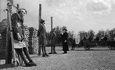Fotograma de 'Senderos de gloria' (1957), de Stanley Kubrick.