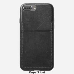 Husa piele iPhone 8 Plus Nomad, carcasa tip portofel, Horween leather - TotalMobil Iphone 8 Plus, Phone Cases, Leather, Phone Case