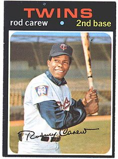 Rod Carew, another of my favorite baseball players ever.