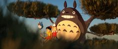 one of the most beautiful things on internet I've ever seen   Tribute to Hayao Miyazaki, by Dono