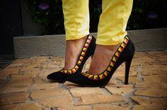 Schutz Navajo heels!