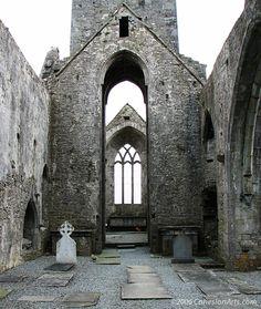 Quinn Abbey, Country Clare, Ireland - ©2006 paul@cohesionarts.com