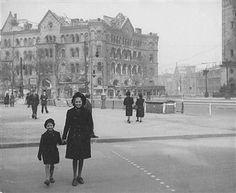 Romanische Häuser Berlin, Ruine 1944