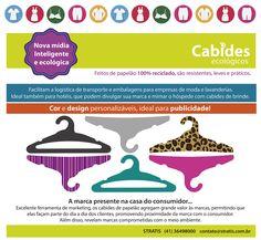 Cabides Ecológicos e Personalizáveis Stratis contato@stratis.com.br